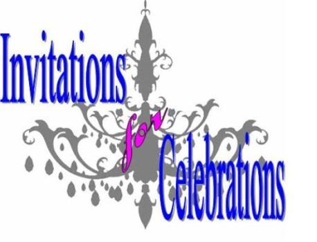 Invitations For Celebrations