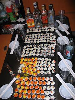 вечеринка: Суши-Пати.