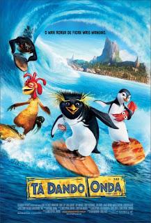 Filme Poster Tá Dando Onda DVDRip RMVB Dublado