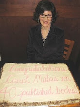 Cake Celebrates Carol Matas'  40 Books for Children, Teens & Young Adults