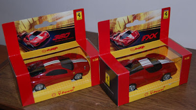 Shell Ferrari Model Cars 1