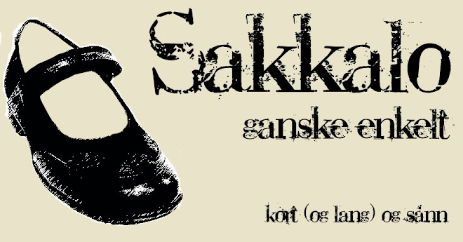 Sakkalo - ganske enkelt