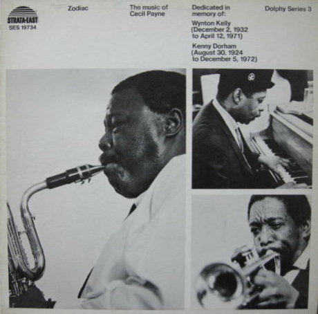 Groove From The World Cecil Payne Zodiac 73 Strata East