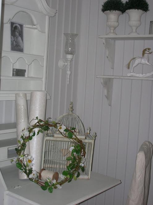 slik så det ut i huset vårt ut da jeg begynte å blogge i 2008