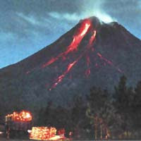 Video Youtube Letusan Gunung Merapi