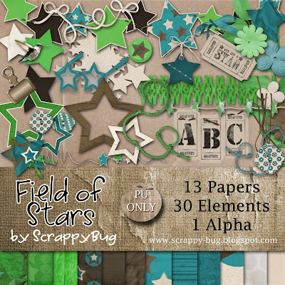 http://scrappy-bug.blogspot.com/2009/11/field-of-stars-freebie-elements.html