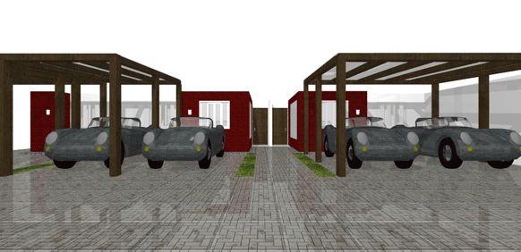Residencial villa di italia cobertura para carros for Villa italia modelos
