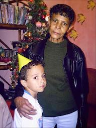 Minha Rainha Alcelina e Neto João Miguel