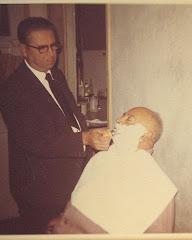 Gente muradeña - Manuel el barbero y Martín el portillo