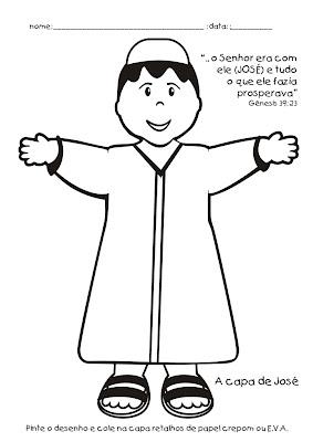 Atividades de Jose do Egito! para crianças