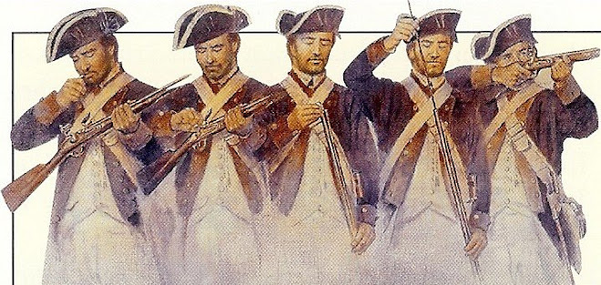 Revolutionary War veterans (click photo)