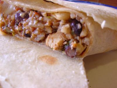 Chicken Burritos Recipe With Rice