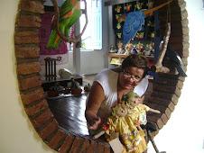 Na Casa do Artesão, em Cuiabá