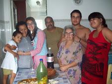 Toda a família reunida...