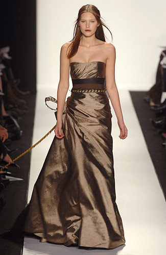 carolina+herrera+bronze+dress.jpg (image) :  carolina herrera