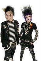 los punkeros