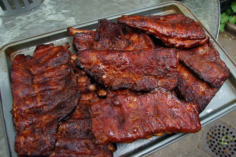 new orleans style barbecue ribs recipe below eugene hot sauce williams ...