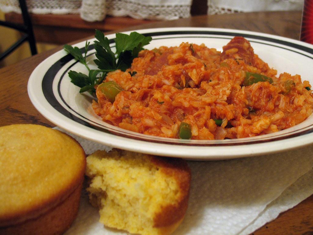 ... jambalaya becca s jambalaya recipe simplyrecipes com becca s jambalaya