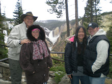 Yellowstone with Ben's parents!