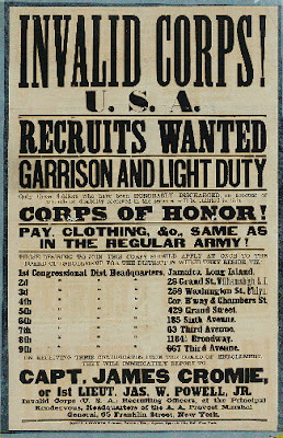 invalid corps recruiting poster