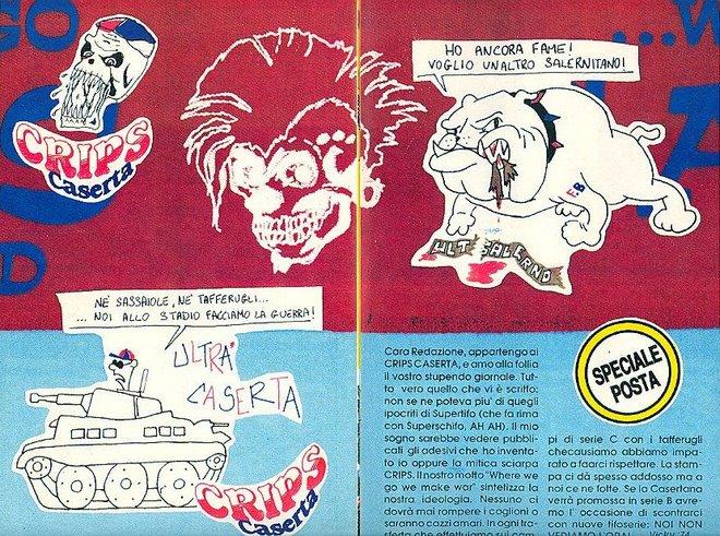 """89/90 articolo rivista """"hooligans"""""""