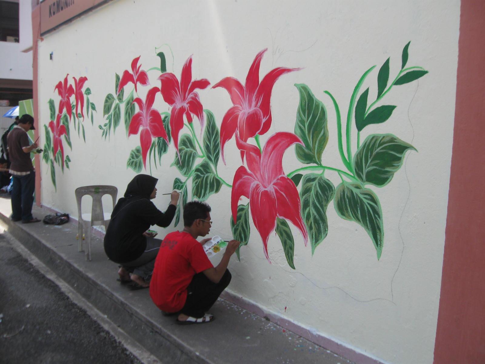 Pusat sumber smkrc may 2010 for Mural sekolah rendah
