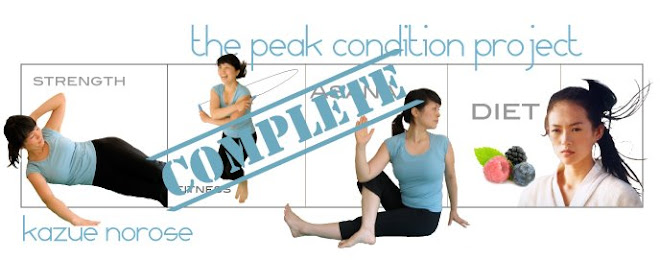 The Peak Condition Project - Kazue Norose