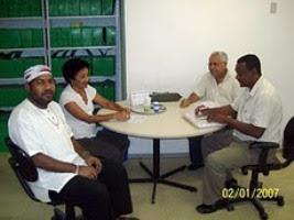 Reunião: Comitê e Subcoordenadora da CIAS. Pauta:  Publicação do Regimento Interno (Abril 2010)