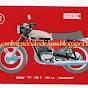 Colección de motos de Cropán de los años setenta
