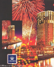 Melbourne - Entertainment Complex - Crown Entertainment Guide brochure, 1999