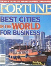 Best city for business - Fortune mag - November 14, 1994