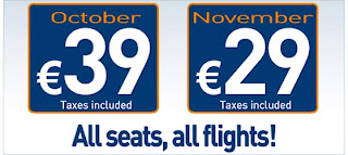 Voe Volare por 29 e 39 Euros