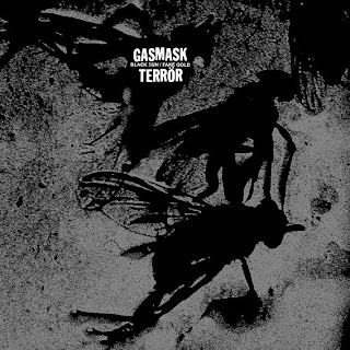 GASMASK TERROR  - black sun-fake gold lp (2010)