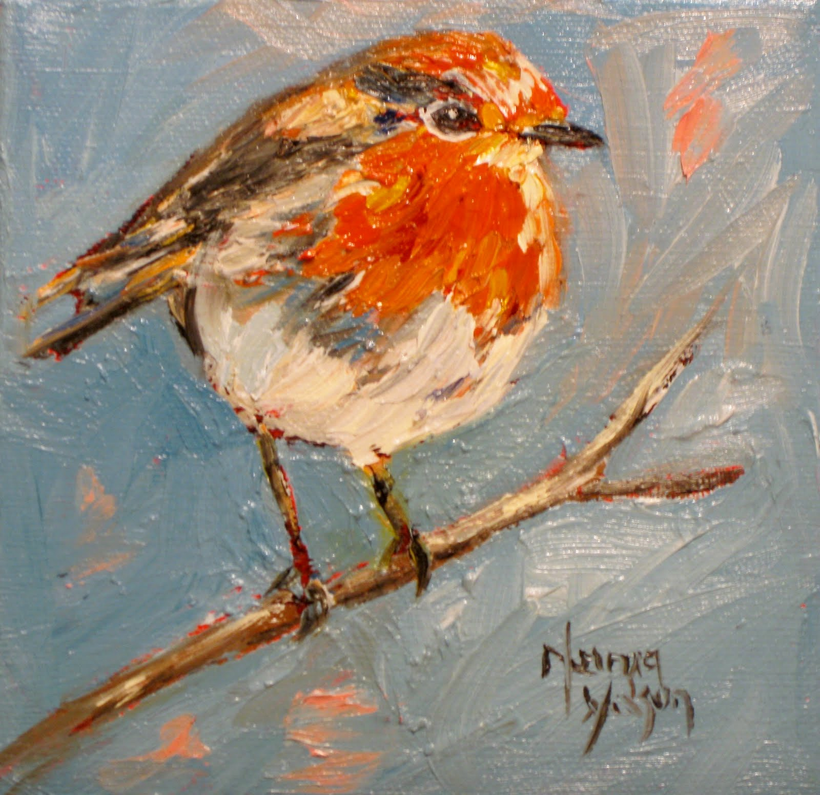 Bird Paintings Art Drawings And Oil Painting Of Birds