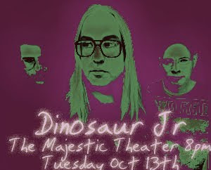 Dinosaur Jr. @ The Majestic – 10/13 8PM