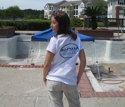 Aloha Swimming Pool Company Gets Some T Shirts!
