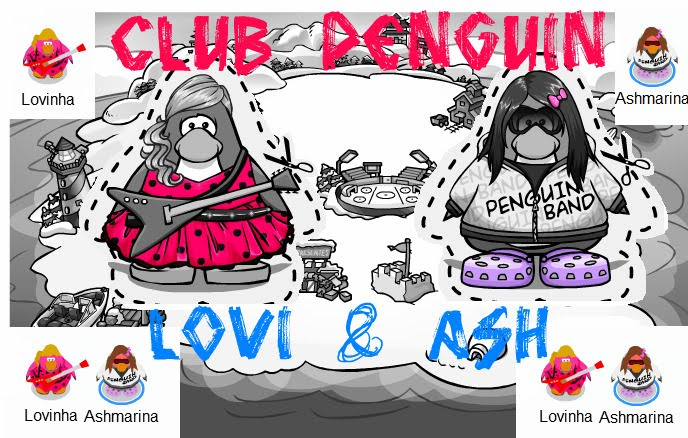 Club Penguin Ash e Lovi!