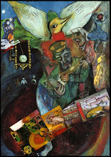 Marc Chagall collage by Duy Huynh and Renan Goksin