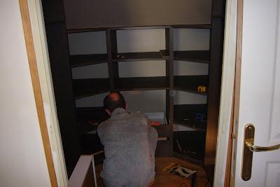 Reglage tiroirs dressing sur mesure