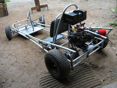 Heavy Metal Works Hot Rod Go Kart