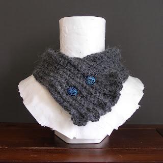 PDF easy beginner crochet pattern ruffle scarflette