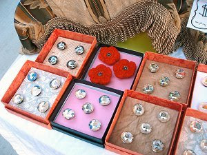 Handcrafted Artful Magnet Sets at Sherwood Saturday Market