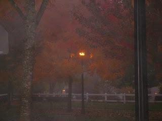 Halloween - Spooky Streetlight