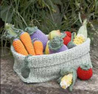 free crochet patterns for vegetables and fruit play food