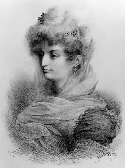 Marie-Thérèse-Charlotte in Art Hva22