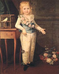 Louis XVII in Art Louis_Charles_of_France2