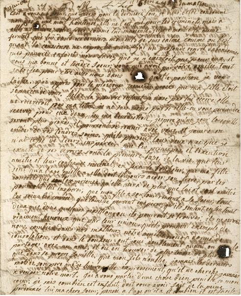 Marie-Antoinette's Letters Testpage1yr8