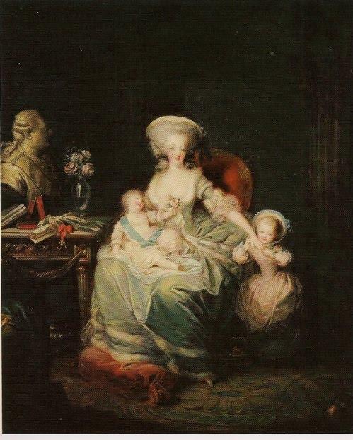 Marie-Antoinette in Art - Page 2 Marie-antoinette-famille