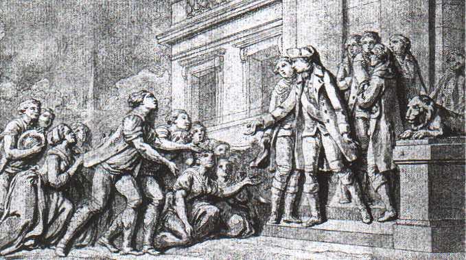 Louis maligned by history Louis+XVI+rendant+la+liberte+aux+serfs+de+son+royaume_WEB