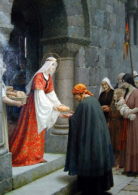 St. Elizabeth of Hungary, Duchess of Thuringia The+Charity+of+St.+Elizabeth+of+Hungary